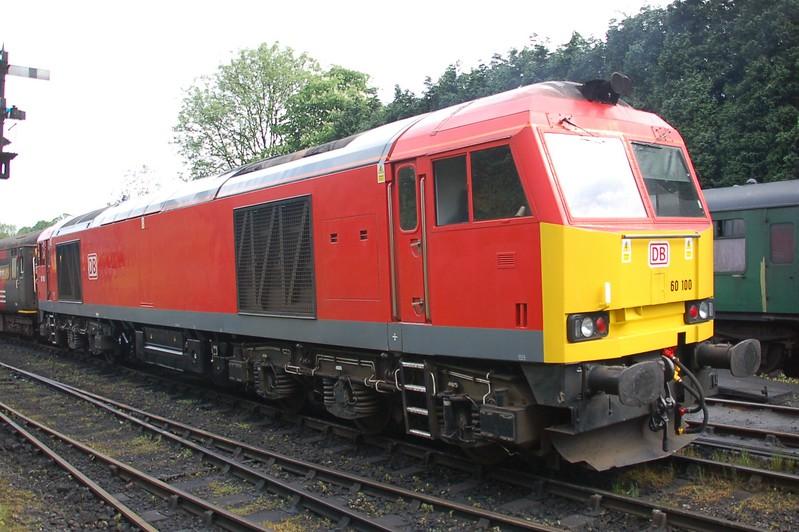 60100 - Bridgnorth, Severn Valley Railway - 18 May 2017