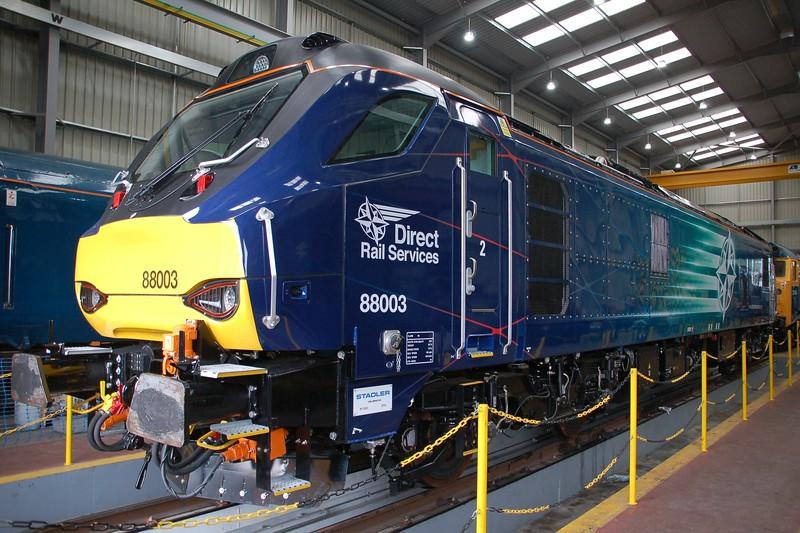 88003 Genesis - Kidderminster, Severn Valley Railway - 20 May 2017