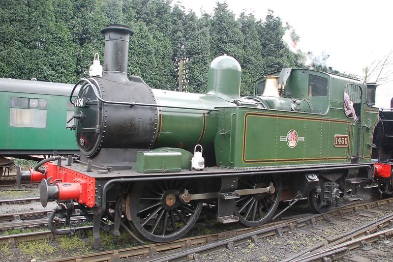 1450 - Bridgnorth, Severn Valley Railway - 17 March 2017