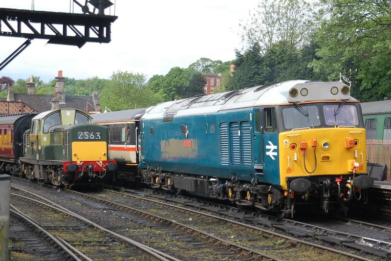 D8568 & 50008 Thunderer - Bridgnorth, Severn Valley Railway - 18 May 2017