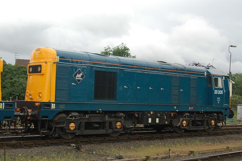 20205 - Kidderminster, Severn Valley Railway - 20 May 2017