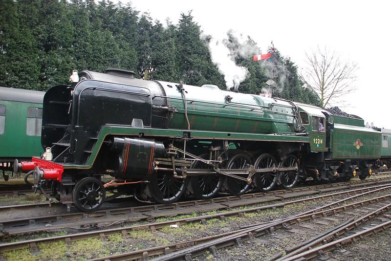 92214 - Bridgnorth, Severn Valley Railway - 17 March 2017