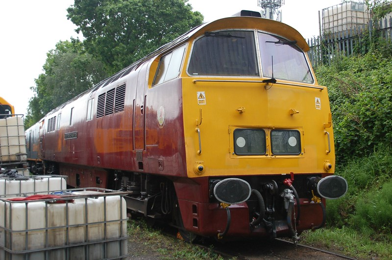 D1015 Western Champion - Kidderminster, Severn Valley Railway - 20 May 2017