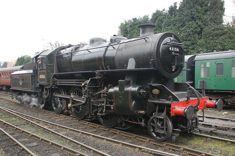 43106 - Bridgnorth, Severn Valley Railway - 17 March 2017