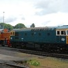 33108 & D9551 - Kidderminster, Severn Valley Railway - 20 May 2017