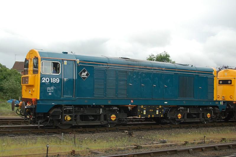 20189 - Kidderminster, Severn Valley Railway - 20 May 2017