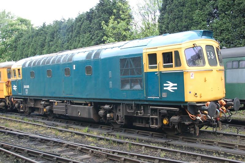 33035 - Bridgnorth, Severn Valley Railway - 18 May 2017