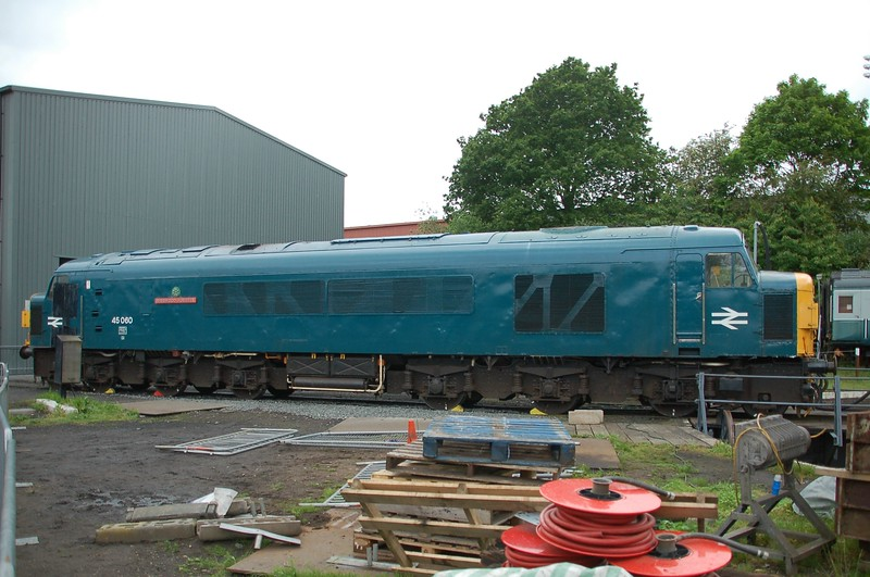 45060 Sherwood Forester - Kidderminster, Severn Valley Railway - 20 May 2017