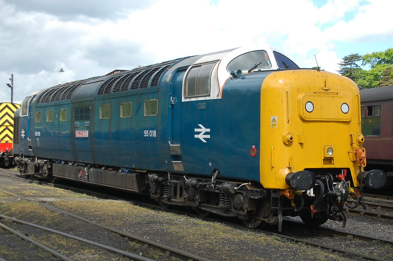 55018 Ballymoss (55022) - Bridgnorth, Severn Valley Railway - 18 May 2017