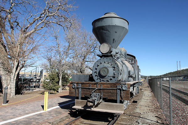 GCR Shay Move - Williams, Arizona 2014