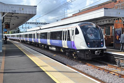New Class 345 Crossrail unit at Shenfield, 18 Aug 2017
