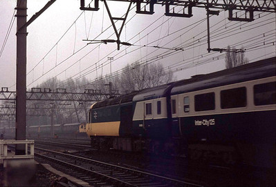 HST at Shenfield 7th April 1979