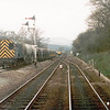 Unidentified class 08 shunting Earle's Sidings, Hope in March-1985