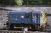 A smart looking 08718 at Edinburgh 07/06/1984.