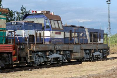 Broad gauge 773 801 Čierna nad Tisou Depot. Thursday 7th September 2017.