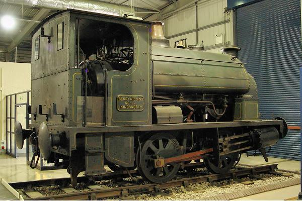 921 Powlesland & Mason 0-4-0ST - Snibston Discovery Park