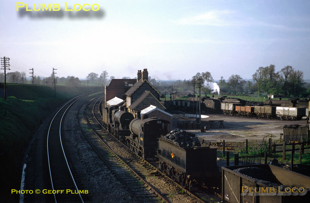 40563 & others, Templecombe MPD, 1st May 1958