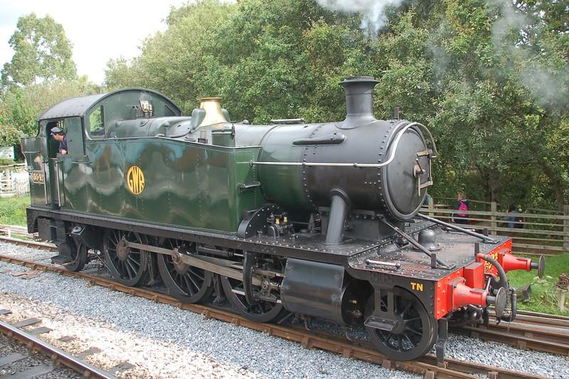 5542 - South Devon Railway - 31 August 2017