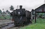 "KTM (Keretapi Tanah Melayu Berhad) No. 564.36 ""Temerloh"" at Kluang, 6th August 1973"