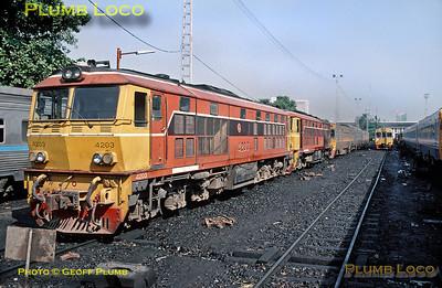 SRT No. 4203, Bangkok, 25th November 1998