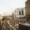 Approaching Holborn Viaduct on the last day - 26/01/90.