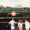 Stewarts Lane Open Day, 22/09/85, with 35028 Clan Line.