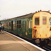Tadpole DEMU at Ashford on 26/04/88 working a Marshlink service for Hastings.