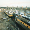Stewarts Lane on 18/11/93 - as taken from my class 47 Chunnel outing..