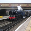 "Steam Dreams ""Cathedrals Express arrives into Bromley South on 26/03/13 with 60163 Tornado in charge."