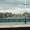 SERVICE CHANGES - an open view of theRiver Thames soon to be lost forever.