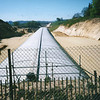 Cut and cover near Hollingbourne in June 2001 - Chunnel rail link (HS1).