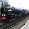 60163 Tornado waits time on 26/03/13 at Bromley South with 1Z87 07 37 Newbury to Canterbury West