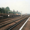 73133 about to enter the West Yard at Tonbridge on 13/09/89 with the 10 18 ex Ashford PAD.