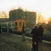 A Sevenoaks to Blackfriars EPB service at St Mary Cray in the Winter of 92.