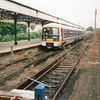 An Elmers End shuttle at Addiscombe in May 97.