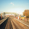 Class 59 (running LE vice the Ardingly/Acton) at Wandsworth Road in November 92.