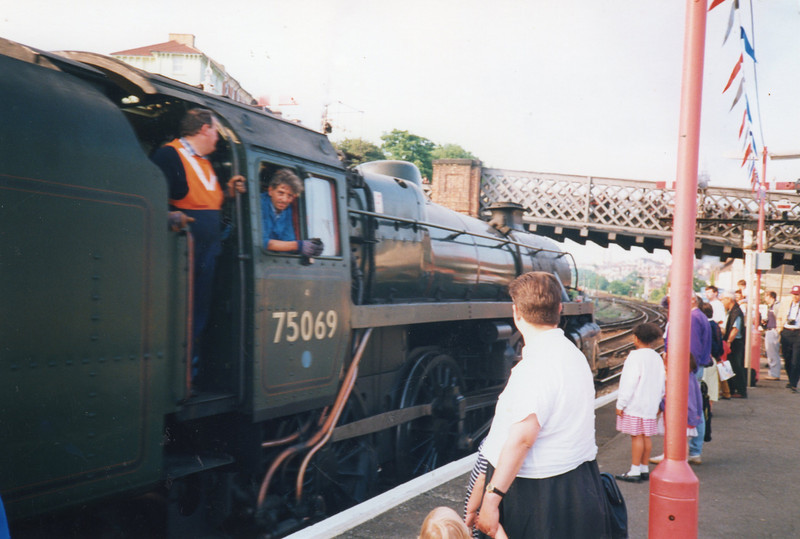 Gala day at Hastings in June 92.