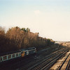 47552 passes Petts Wood Junction on 20/12/86 with 10 45 Dover Western Docks to Liverpool Lime Street.