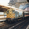 09011 at Dover Western Docks on 27/02/92 SRLing the Inter City.