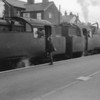 When passing through Tonbridge on 27/05/64 I leant out of the window (you could do that then!) and took thois shot of Standard Tanks 80152 and 80094 on the 19 45 departure for Reading 9Southern). I caught 80152 later that year in the Eridge area whilst having to travel on the Lymington branch for 94.