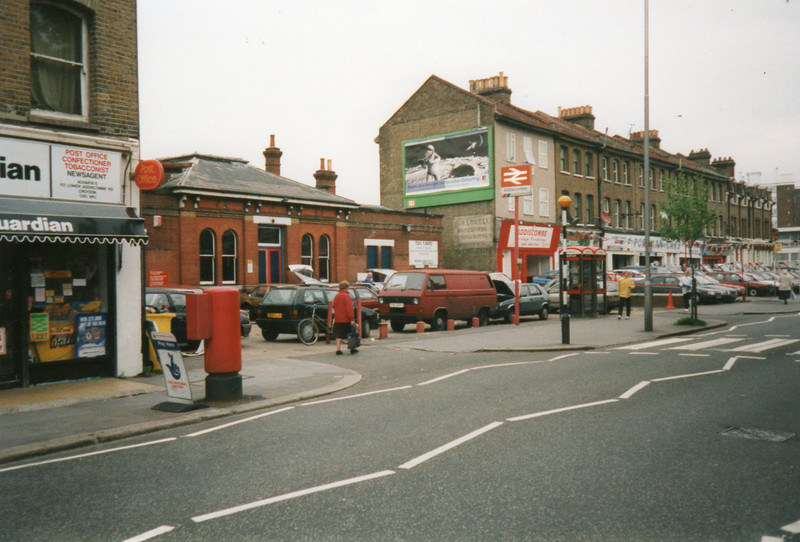 Addiscombe station frontage.