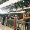 The Royal train at Victoria on 23/10/90 with 73201 - on the occasion of the state visit of the President of Italy (who flew into Gatwick).