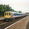 Thameslink class 319 service at St Mary Cray on 08/06/91.