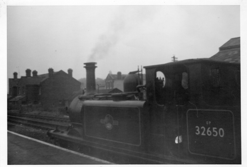 Another Brownie 127 shot at Havant - this Eastleigh loco was to survive a further 2 years.