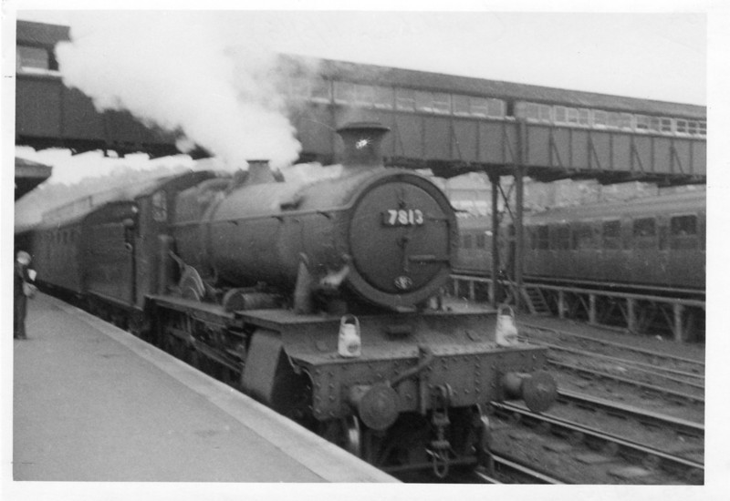A regular booking to a WR Manor was the 10 45 Tonbridge to Reading South (from Redhill). On 26/05/64 Didcot allocated 7813 Freshford Manor was working this duty and, having taken a valuable half days annual leave, travelled with her - she was withdrawn 11 months later.