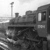 The SR's solitary example of BR Standard 3MT, Guildford's 77014, is seen at her home station on 13/11/66 - she lasting until the end in July 67.