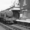The 12 47 Reading Southern to Guildford arrives into Wokingham on 07/08/64 with Guildford allocated U 31809 in charge.