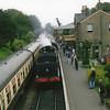 Ex LMS S&D 8F 88 (53808) arrives into Ropley on 10/09/10.