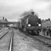 The Wilts & Hants Rail Tour on 03/04/66 had a photographic stop  at Mortimer where the leading Mogul U Class 31639 poses.