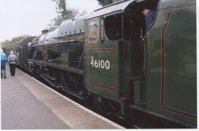 Visiting Scot, 46100 Royal Scot herself, is at Alton with the 11 30 for Alresford.